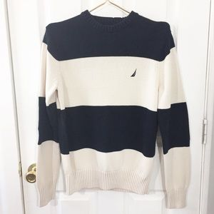 Nautica Jeans Co. | NWOT Sweater | Navy/White